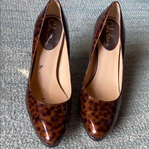 Patent leather Cole Haan pumps